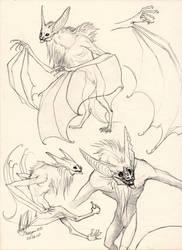 Bat Kin by RayEtherna