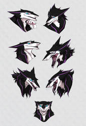 Gaius expressions chart by RayEtherna