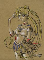 Sailor Moon Fan Art by natalianinomiya