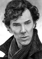 Benedict Cumberbatch - Sherlock by SmoothCriminal73