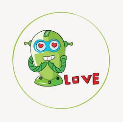 Love robot by nasrinkhodatars