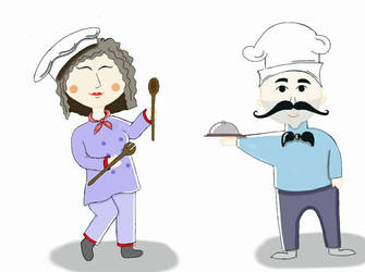 Master chef by nasrinkhodatars