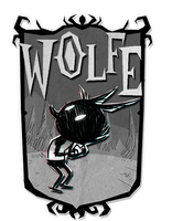 Don't Starve, Wolfe! by cowboypunk
