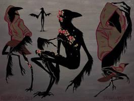 Bird fella concepts by cowboypunk
