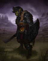 Orc Leopard Knight3 by Taaks