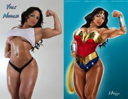Yves Nunez is a TRUE Wonder Woman By Jaton-Ra by zenx007