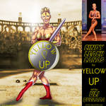 Cindy Canas Is Wonder Woman For Yellow Up By Ulics by zenx007