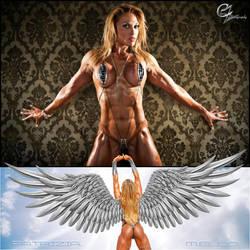BEAUTIFUL IRON ANGEL Patricia Mello by zenx007