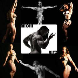 PHENOMENAL PHYSIQUE PHYSICIAN Michi Ritz by zenx007