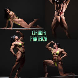 The PHENOMENAL PHYSIQUE Of Claudia Partenza by zenx007