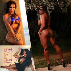 SUPER SEXY And FLEXY Rhonda Lee Quaresma by zenx007