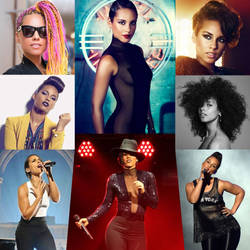 The SOUNDS And STYLE Of Alicia Keys by zenx007