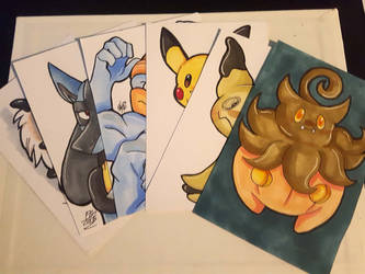 For Sale: Pokemon ATC by ACLuigiYoshi