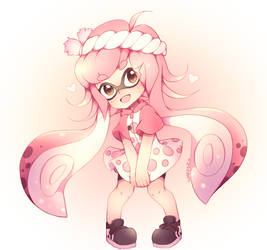 Pink is as cute as me by SquidKidBanana