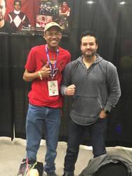 Meeting my hero by RedWingsDragon