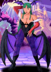 Sexy Morrigan by RedWingsDragon