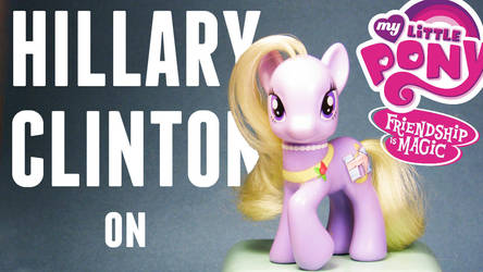 MLP- HILLARY CLINTON by MidnightRarity