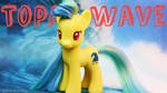 Topaz Wave- My Little Pony Custom Brushable! OOAK by MidnightRarity