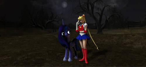 Moon Princess Meeting by HectorNY