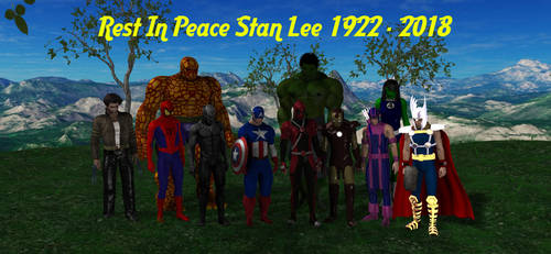 Rest In Peace Stan Lee by HectorNY