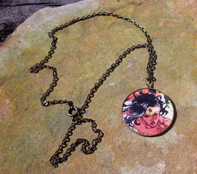 Wonder Woman Necklace by cyborgseamstress