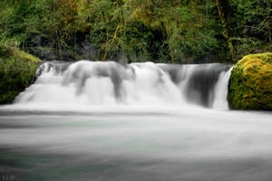 Salmon Creek Falls HDR by 11thDimensionPhoto