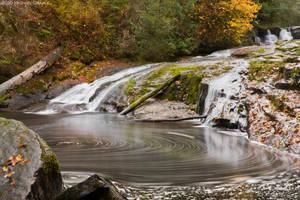 Alsea Falls-Autumn by 11thDimensionPhoto