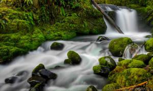 Dobbin Creek Falls by 11thDimensionPhoto