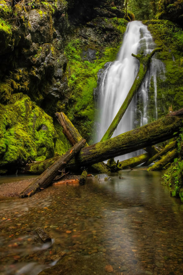 Lower Trestle Falls by 11thDimensionPhoto