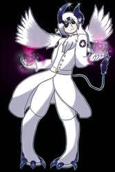 Demon Absol Medic's Dark power by BlazetheAngelQueen