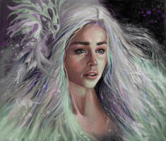 The Mother of Dragons by giberin