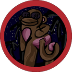 Cheeky Monkey 1st sticker by CheekyBittyButts
