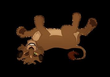 Happy Cub YCH~ For Scrubby by HeadlessLioness