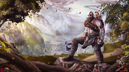 God of War by cagdasdemiralp