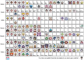 Pokemon - PSS Icon Collection WIP by Frozen-Echo