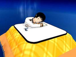 [MMD] Kotatsu by Cyndyrellah