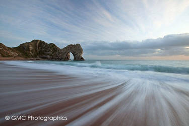 The Dymanic of Durdle Door by GMCPhotographics