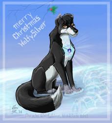 Lilymud Secret Santa 2012 - For WolfySilver by Aikachi02