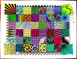 Zentangle Quilt by jdphoenix32