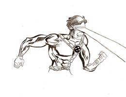 Scott Summers aka Cyclops by Water-Fan2090