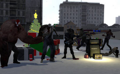 Have an Infected Christmas by MEKofTheMEKkingdom