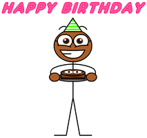 My happy birthday card by Pancakedude