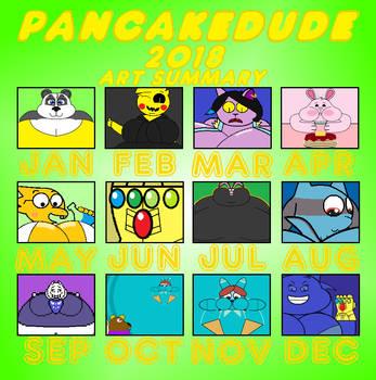 2018 Art Summary by Pancakedude
