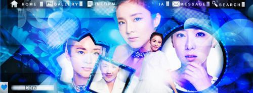 Sky Blue- Dara 2ne1  by DesingsTutorials