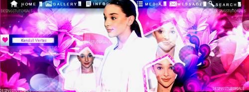 Pink Time Kendall K by DesingsTutorials
