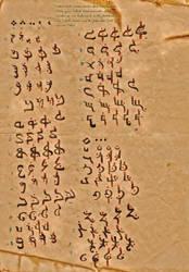 The Halruaan Scripture by Angelghost