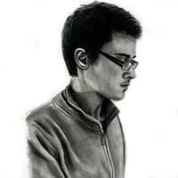 Sketch selfportrait by M-art-works