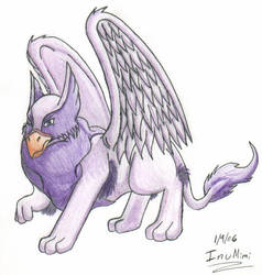Purple Eyrie by InuMimi by theneopetsteam