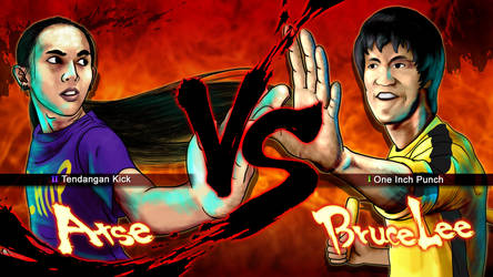 Me VS Bruce Lee by RynoBengawan