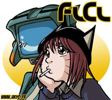 FLCL: Mamimi + Cantide by Uky0